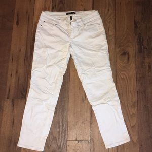 Ann Taylor white denim jeans